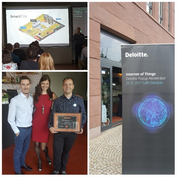 deloitte, T-MAPY has received the certificate from Deloitte for high standards in innovation, T-MAPY spol. s r.o.