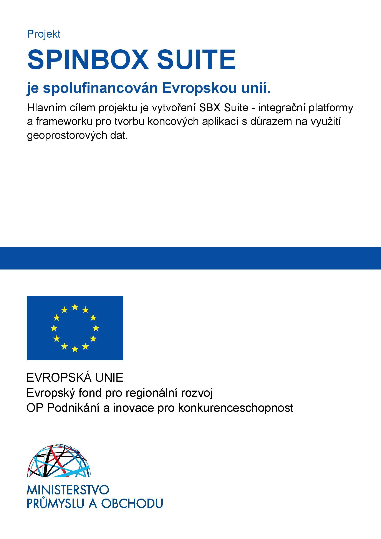 Spolupráce s EU, Spolupráce s EU, T-MAPY spol. s r.o.