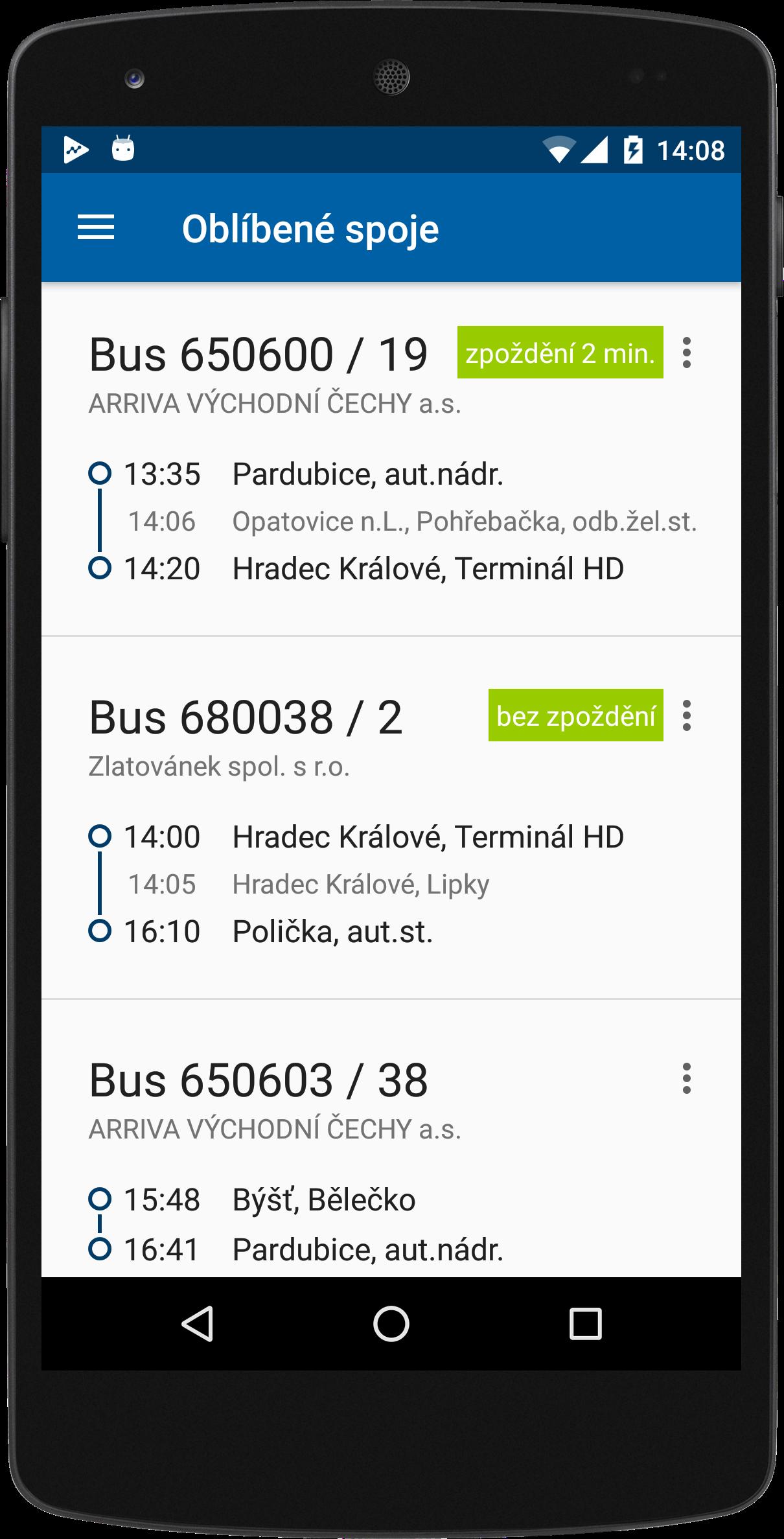 Predstavujeme Mobilni Aplikaci Ids Iredo Pro Cestujici V Pardubickem