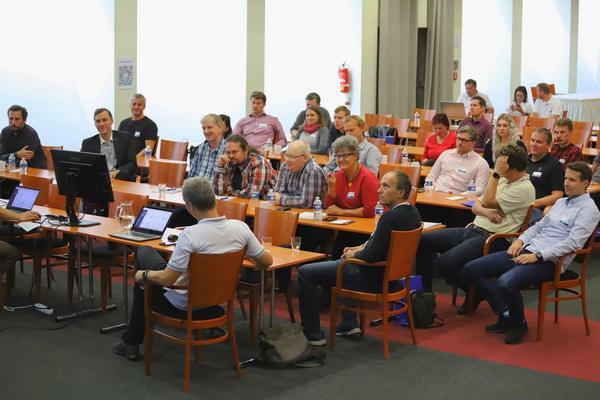 Setkání uživatelů, T-MAPY se se svými uživateli tentokrát potkaly v Přerově, T-MAPY spol. s r.o.