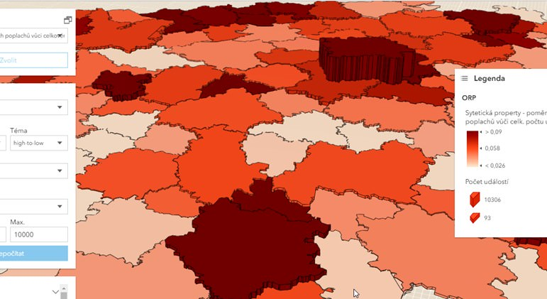 3D kartogram