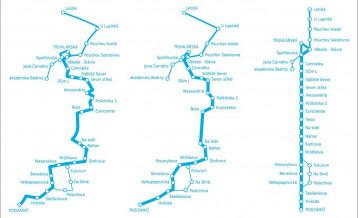schémata a plány linek, Schémata a plány linek, T-MAPY spol. s r.o.